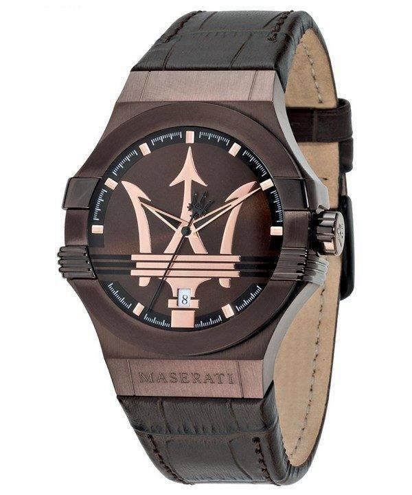 Montre Quartz analogique Maserati Potenza R8851108011 masculin