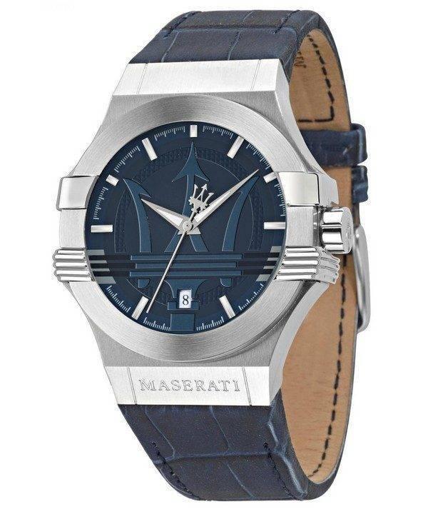 Montre Quartz analogique Maserati Potenza R8851108015 masculin
