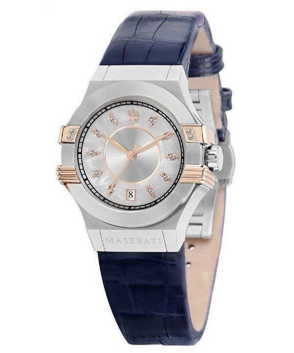 Maserati Potenza Quartz diamant Accents R8851108502 Women Watch