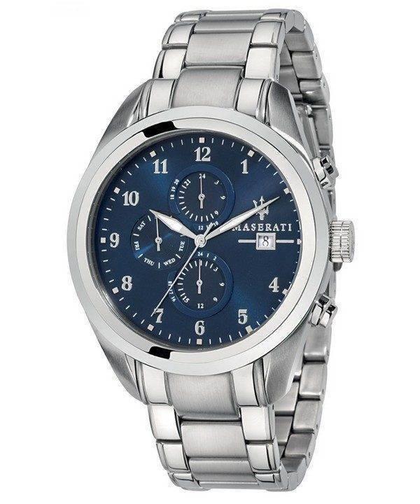 Maserati Traguardo Chronographe Quartz R8853112505 montre homme
