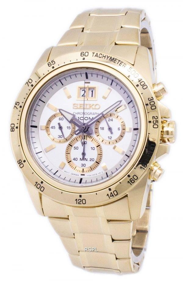 Montre Seiko Quartz chronographe Lord SPC244 SPC244P1 SPC244P hommes