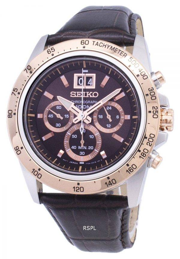 Montre Seiko Quartz chronographe Lord SPC248 SPC248P1 SPC248P hommes