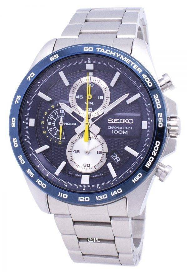 Seiko Neo Sport Chronograph Quartz SSB259 SSB259P1 SSB259P Men Watch