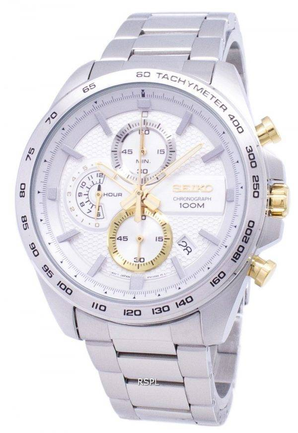 Seiko Neo Sport Chronograph Quartz SSB285 SSB285P1 SSB285P Men Watch