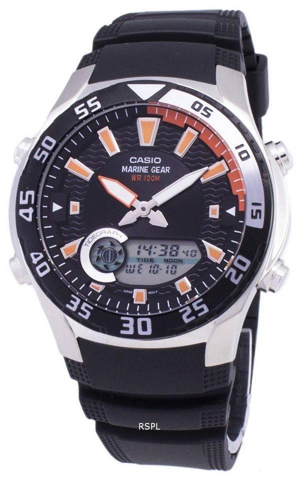 Montre Casio analogiques numériques inverseur AMW-710-1AVDF AMW-710-1AV masculine