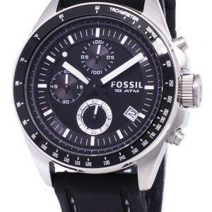 Montre Fossil Decker CH2573 Hommes chronographe silicone