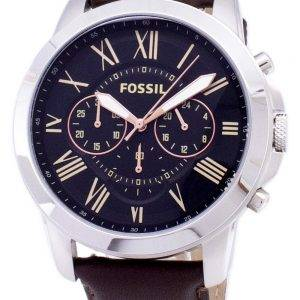 Accorder des fossiles montre chronographe FS4813 masculin