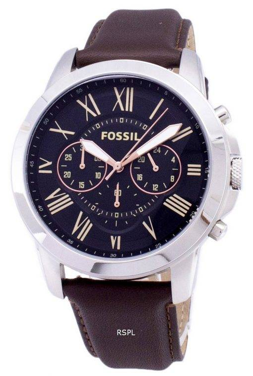 Accorder des fossiles montre chronographe FS4813 masculin