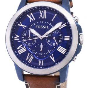 Accorder des fossiles montre chronographe Quartz FS5151 masculin