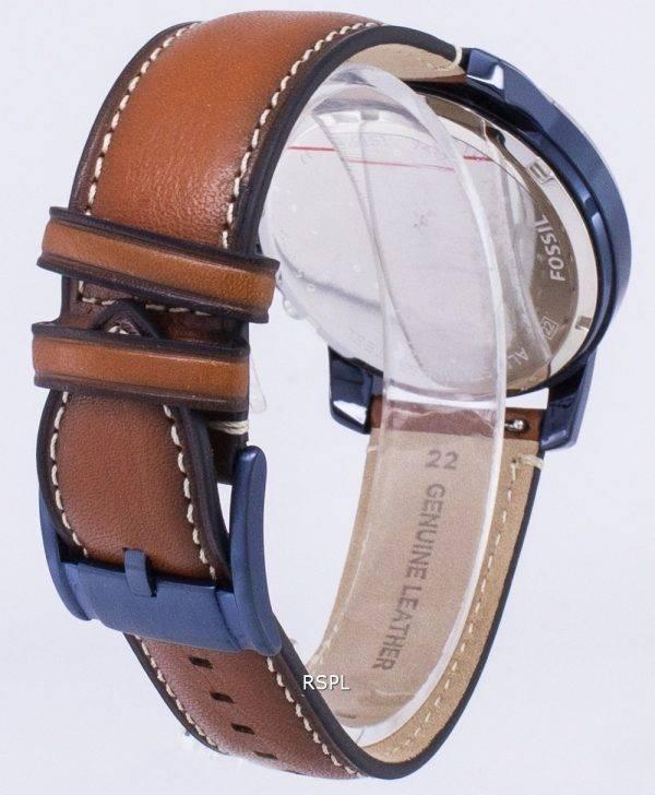 Accorder des fossiles montre chronographe Quartz FS5151 masculin