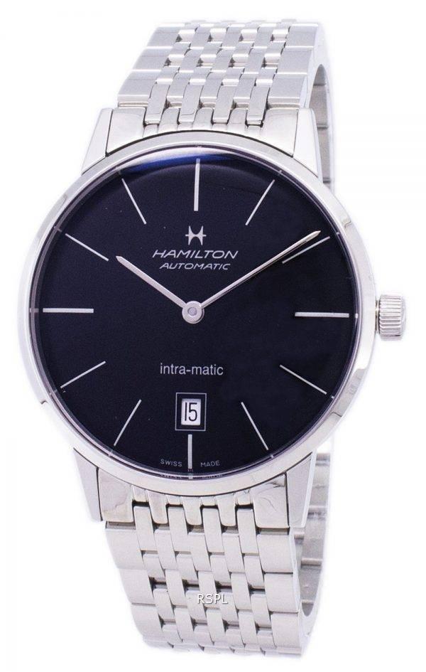Hamilton automatique cadran noir H38455131