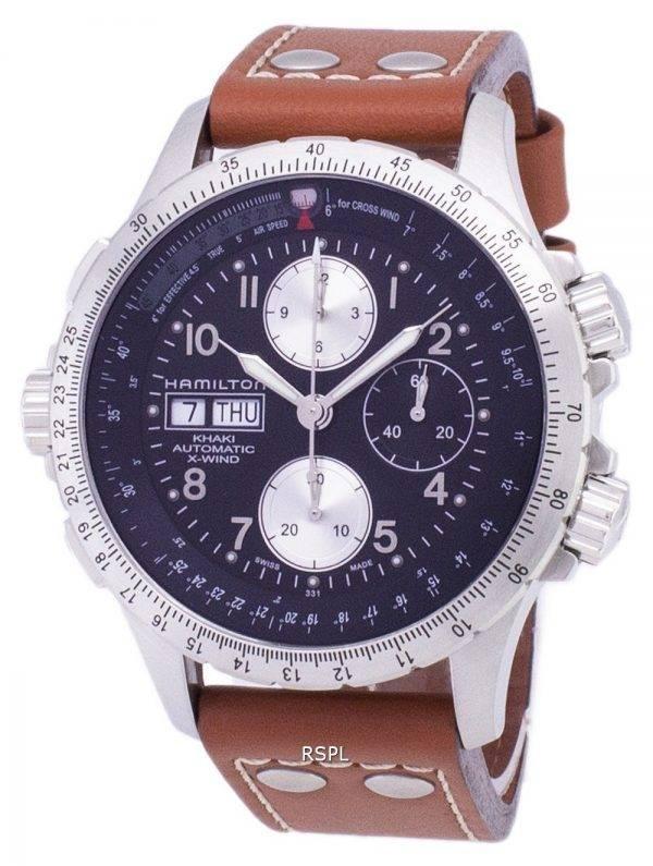 Montre Hamilton Khaki X-Wind Automatique Chronograph H77616533 hommes