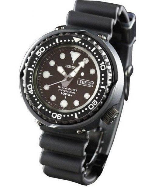 Seiko MarineMaster professionnel 1000M Diver Mens montre à Quartz SBBN013