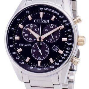 Montre Citizen Eco-Drive chronographe tachymètre AT2396-86F masculine