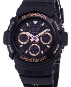 Montre Casio G-Shock résistant aux chocs de 200M numérique analogique AW-591GBX-1 a 4 AW591GBX-1 a 4 masculine