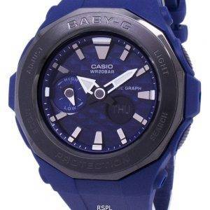 Casio Baby-G Tide graphique Analog Digital 200M BGA-225G-2 a BGA225G-2 a Women Watch