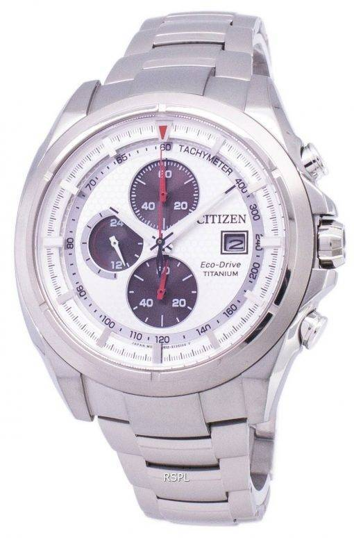 Citizen Eco-Drive chronographe tachymètre Power Reserve CA0550-52 a montre homme