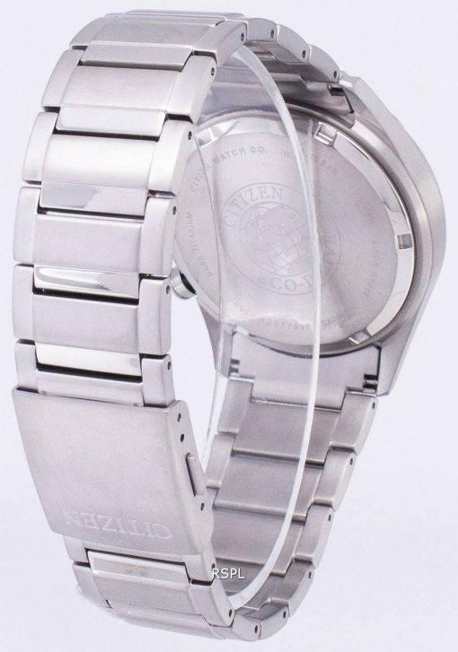 Montre Citizen Eco-Drive titane chronographe tachymètre CA0650-82 b masculine