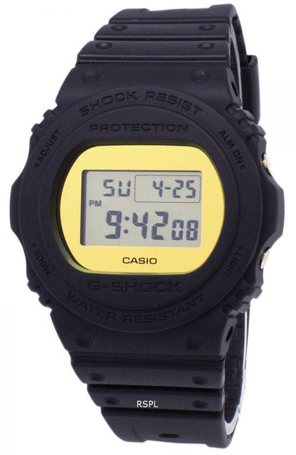 Montre Casio G-Shock couleur spéciale modèles 200M DW-5700BBMB-1 DW5700BBMB-1 homme