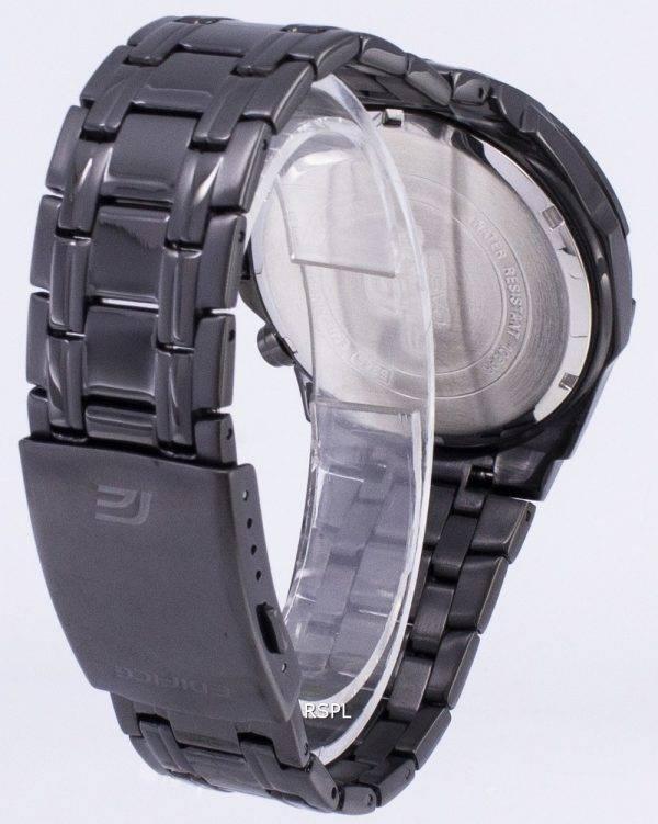 Montre Casio Edifice Chronographe Quartz EFR-539BK-1AV EFR539BK-1AV masculine