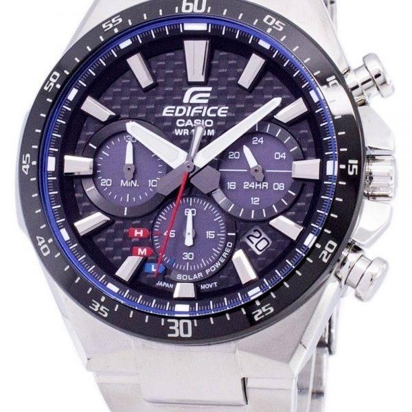 f3472a3990bad3 Montre chronographe solaire Casio Edifice EQS-800CDB-1AV EQS800CDB-1AV  masculine