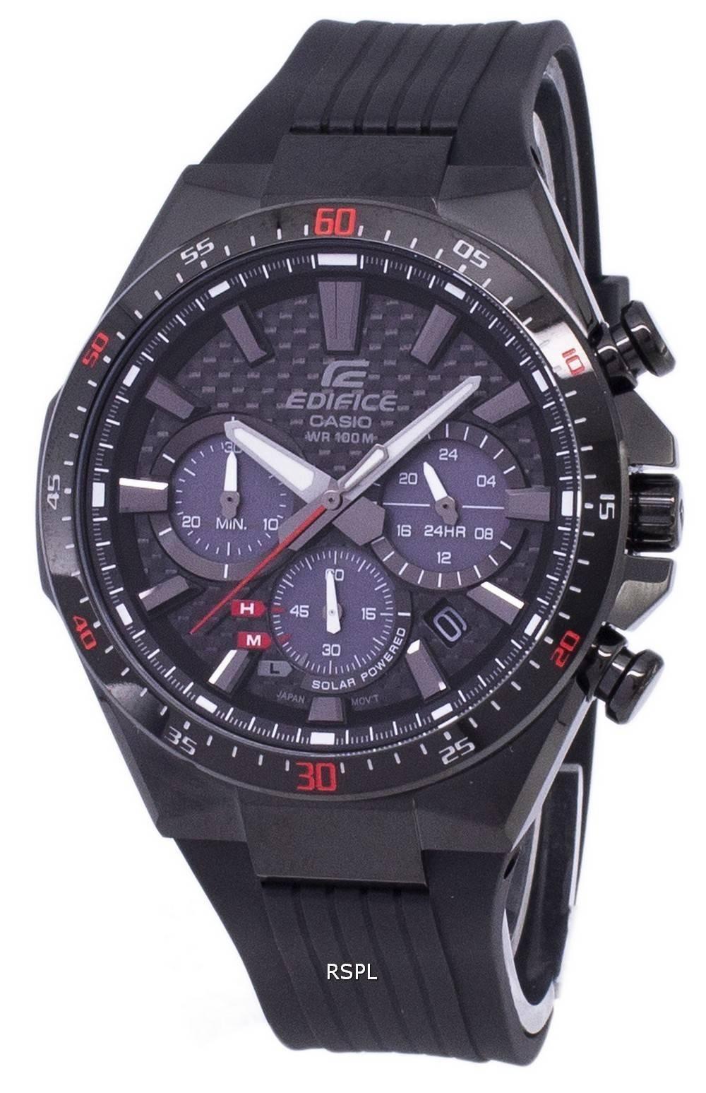 609eca6ffb69f5 Montre chronographe solaire Casio Edifice EQS-800CPB-1AV EQS800CPB-1AV  masculine