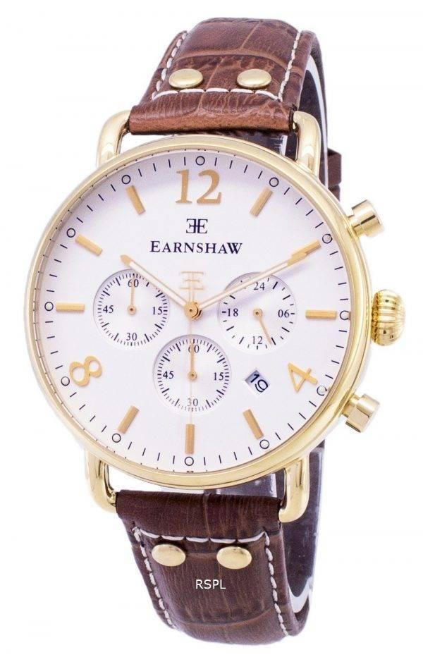 Montre Thomas Earnshaw enquêteur Chronographe Quartz ES-8001-02 homme