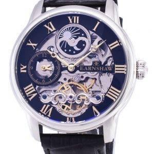 Longitude de Thomas Earnshaw soleil et Lune automatique ES-8006-04 montre homme