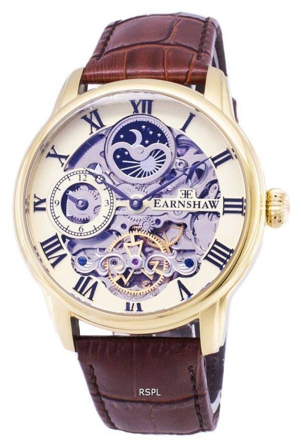 Longitude de Thomas Earnshaw soleil et Lune automatique ES-8006-06 montre homme