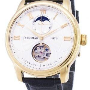 Longitude de Thomas Earnshaw Moon Phase automatique ES-8066-03 montre homme