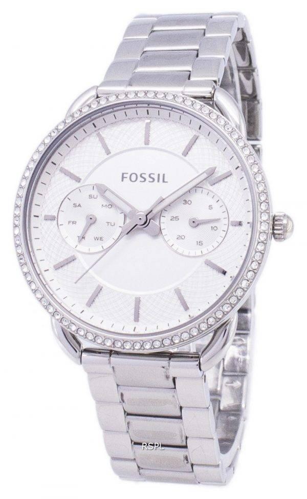 Fossile de tailleur multifonction Quartz diamant Accents ES4262 Women Watch