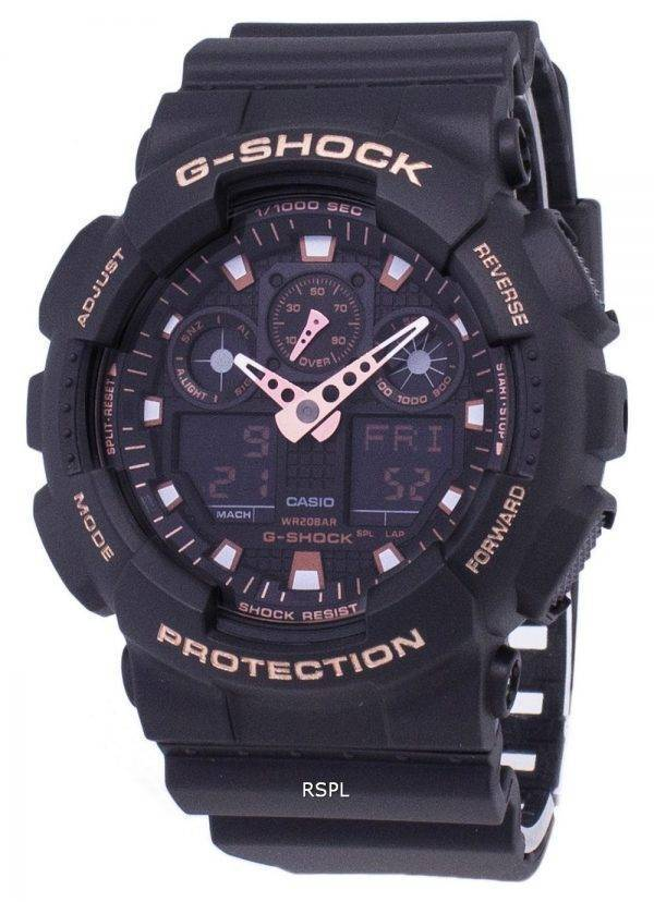 Analogique numérique Casio G-Shock 200M GA-100GBX-1 a 4 GA100GBX-1 a 4 montre homme