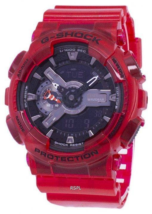 Casio G-Shock couleur spéciale modèles numériques 200M GA110CR de GA-110CR-4 a-4 a montre homme