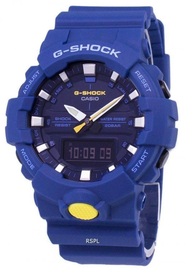 Casio G-Shock résistant aux chocs Analog Digital 200M GA800SC de GA-800SC-2 a-2 a montre homme