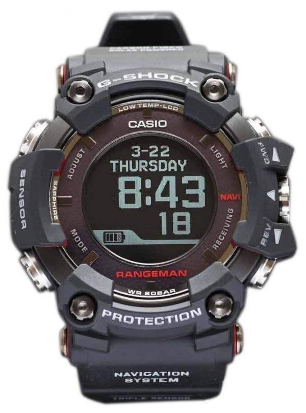 Montre Casio G-Shock GPR-B1000-1JR Rangeman Triple capteur GPS 200M hommes