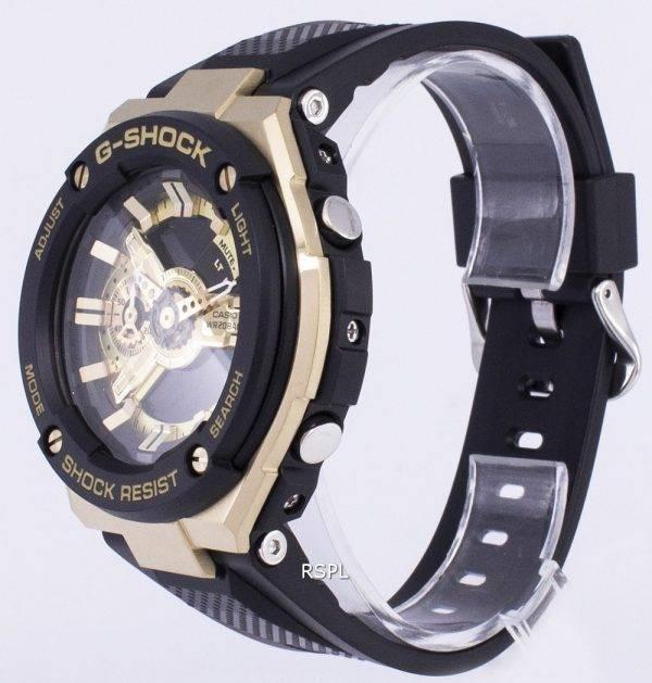 Casio G-Shock G-acier analogique numérique 200M TPS-400G-1 a 9 GST400G-1 a 9 montre homme