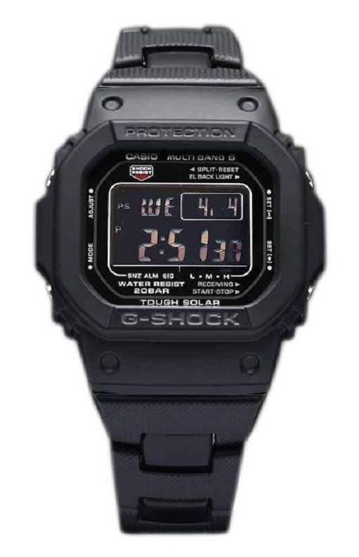 Casio G-Shock GW-M5610BC-1JF MULTI bande 6 Tough Solar montre homme