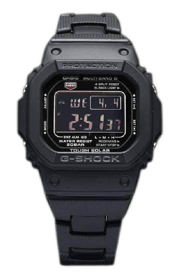 Casio G-Shock GW-M5610BC-1JF MULTI bande 6 Tough Solar montre homme