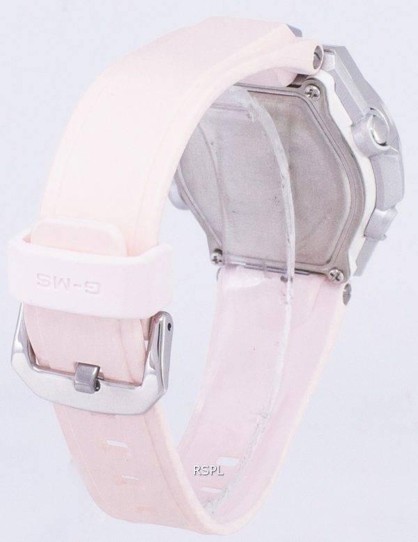Casio G-MS Tough Solar résistant aux chocs analogique numérique MSG-S200-4 a MSGS200-4 a Women Watch