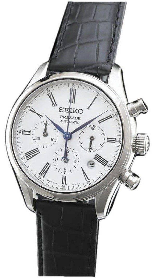 SARK013 de Presage Seiko chronographe automatique Japon fait montre homme