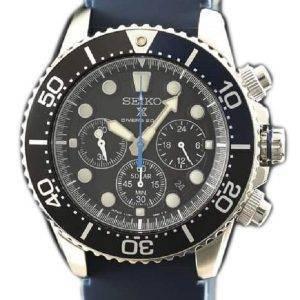 Seiko Prospex SBDL049 Scuba Diver 200M chronographe solaire montre homme