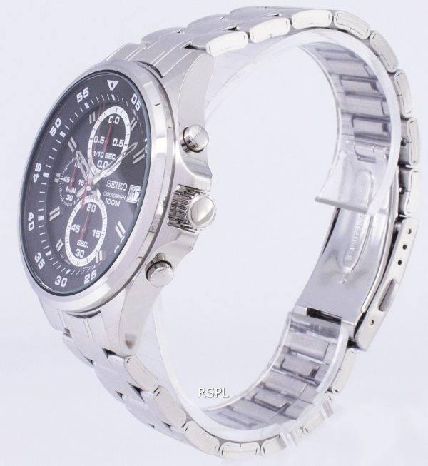 Montre Seiko chronographe Quartz SKS627 SKS627P1 SKS627P hommes