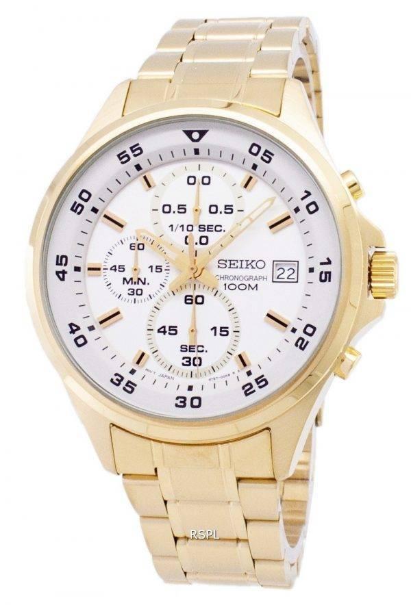 Montre Seiko chronographe Quartz SKS632 SKS632P1 SKS632P hommes