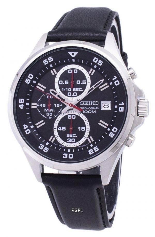 Montre Seiko chronographe Quartz SKS635 SKS635P1 SKS635P hommes