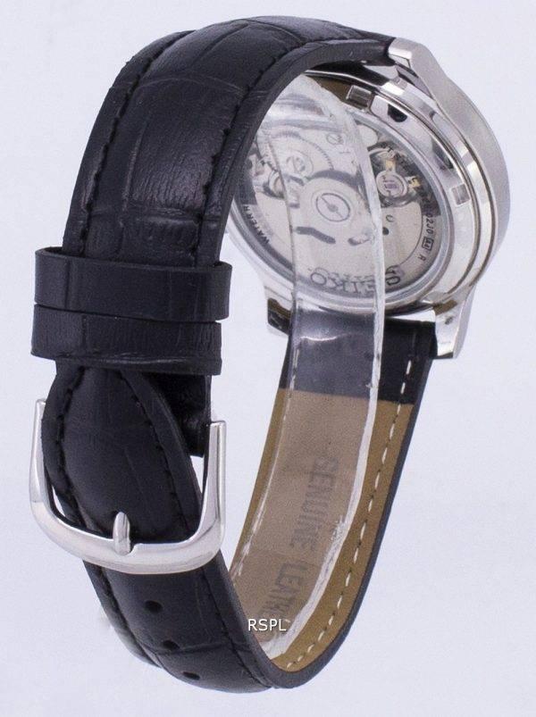 Seiko 5 SNK803K2 militaire-SS1 automatique cuir noir bracelet montre homme