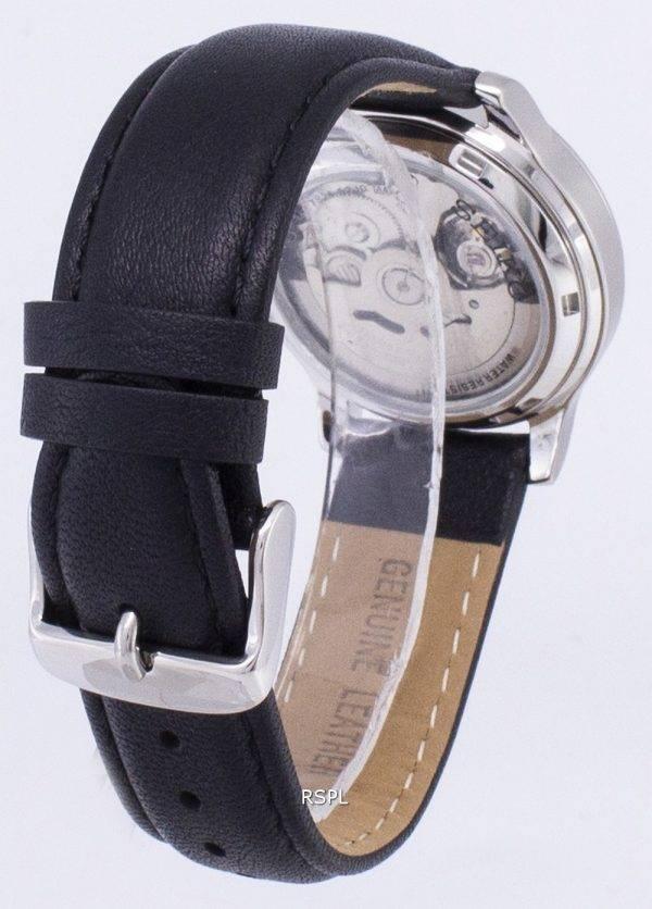 Seiko 5 militaire SNK805K2-SS3 automatique cuir noir bracelet montre homme