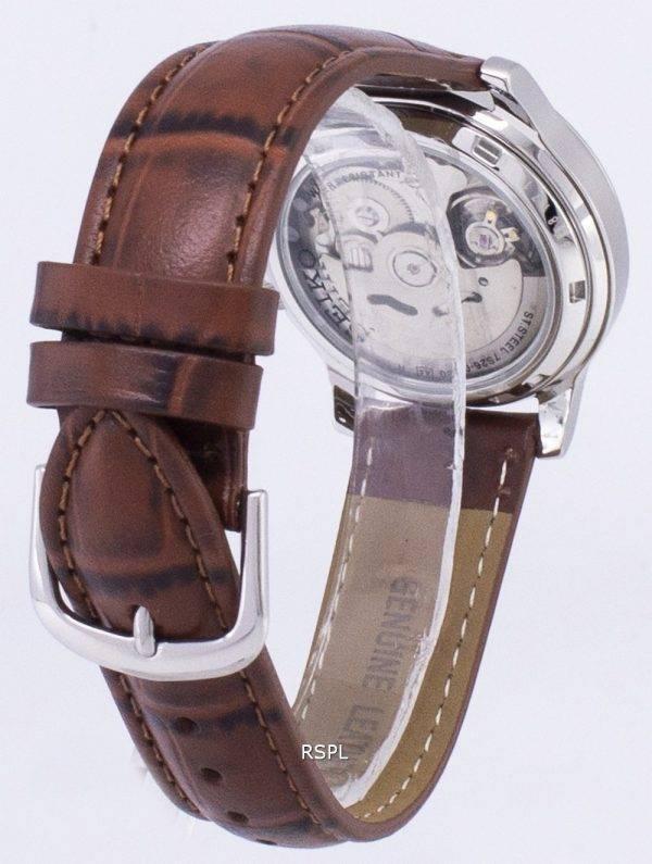 Seiko 5 militaire SNK807K2-SS2 automatique cuir marron bracelet montre homme