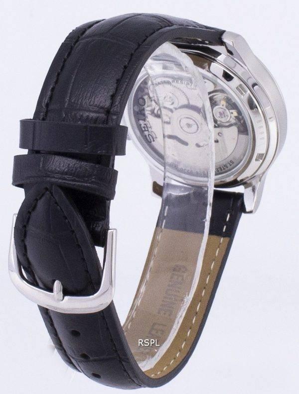 Seiko 5 militaire SNK809K2-SS1 automatique cuir noir bracelet montre homme