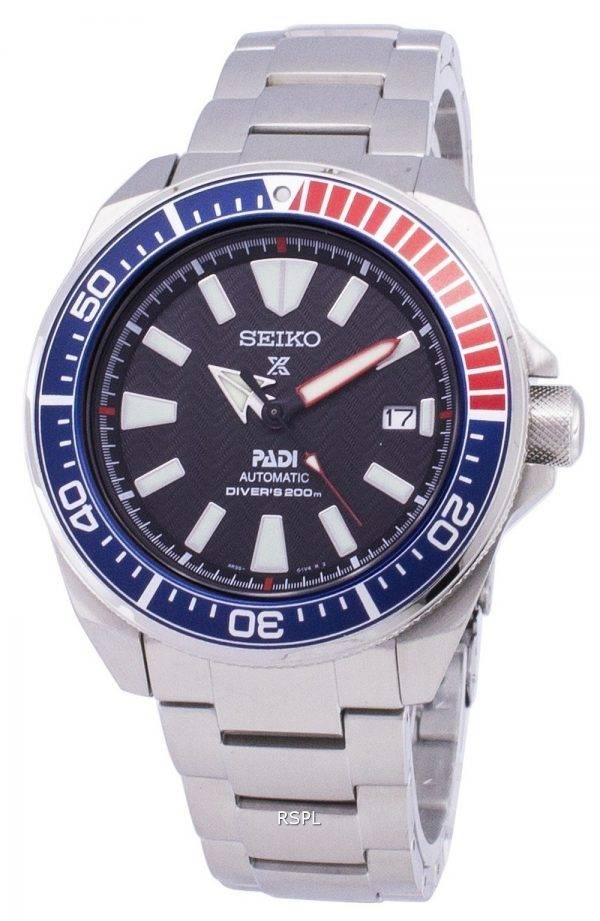 Montre 200M SRPB99 SRPB99K1 SRPB99K masculine Seiko Prospex Padi automatique Diver