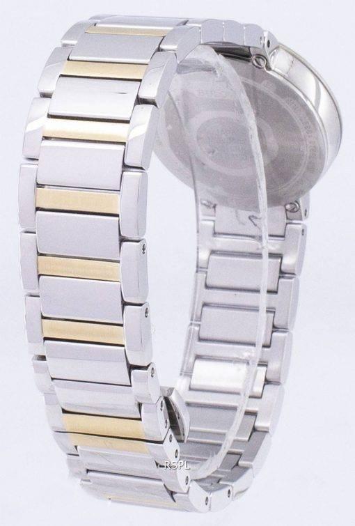 Montre Bulova moderne 98 P 180 diamant Accents Quartz féminin